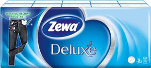 Zewa Deluxe Standard papírové kapesníky 3vrstvé 10x10ks