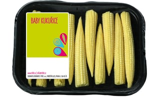 Titbit Baby corn, vanička