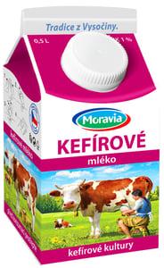 Moravia Kefírové mléko 1 %