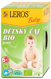LEROS BIO Dětský čaj bylinný