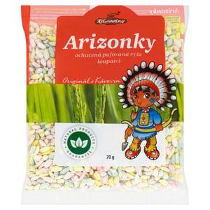 Kávoviny Arizonky ochucená pufovaná rýže loupaná
