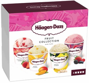 Häagen-Dazs Fruit Attraction multipack 4x95ml