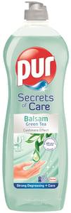 Pur Secrets of Care Green Tea prostředek na ruční mytí nádobí