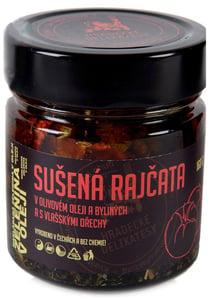 Hradecké delikatesy Sušená rajčata v olivovém oleji s vlašskými ořechy