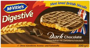 McVitie's Digestive s hořkou čokoládou