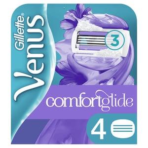 Gillette Venus ComfortGlide Breeze Dámské Holicí Hlavice, 4ks