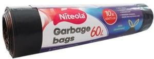 Niteola igelitové sáčky na odpad zatahovací pevné 60l