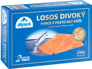Mylord Porce z filetů z lososa divokého