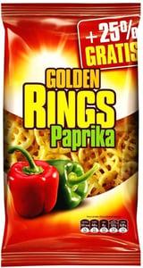 Golden snack Golden Rings paprikové