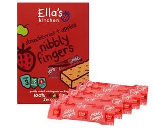Ella's Kitchen BIO Tyčinka - jahoda a jablko PACK 5ks