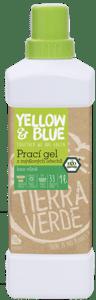 Yellow & Blue Prací gel z mýdlových ořechů bez vůně (1l)