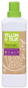 Yellow & Blue Prací gel s levandulovou silicí (1l)