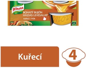 Knorr Bohatý Bujón kuřecí 2l (4x28g)