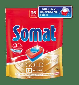 Somat Gold Tablety do myčky nádobí