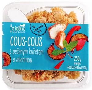 Titbit Cous cous s pečeným kuřetem a zeleninou
