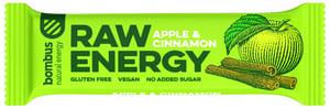 Bombus Raw energy apple & cinnamon tyčinka