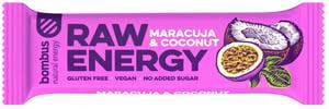 Bombus Raw energy maracuja & coconut tyčinka