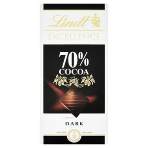 Lindt Excellence hořká čokoláda 70%