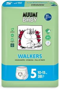 Muumi Baby Walkers Plenkové kalhotky Maxi+ vel. 5 (10-15kg)