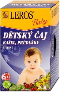 LEROS Baby Dětský čaj Kašel, průdušky