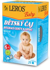 LEROS Baby Dětský čaj - Dýchací cesty s lípu
