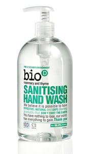 Bio-D BIO Tekuté dezinfekční mýdlo na ruce s rozmarýnou a tymiánem