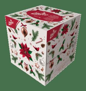 Linteo papírové kapesníky s balzámem - vánoční motiv 2vrstvé 80ks