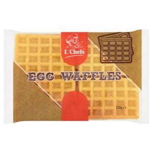 L'Chefs vaječné wafle