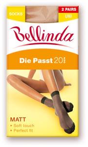 Bellinda silonkové ponožky DIE PASST 2ks, tělové, vel. UNI