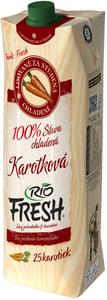 RIO FRESH 100% šťáva chlazená karotková
