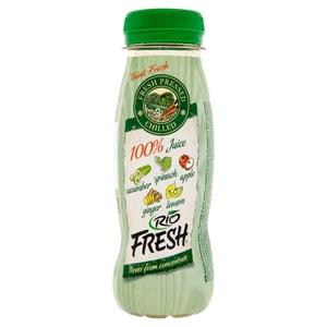 RIO FRESH green smoothie ovocno-zeleninová šťáva z ovoce a zeleniny lisovaných za studena