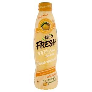 RIO FRESH 100% šťáva z čerstvě lisovaných pomerančů s dužninou