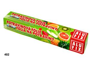 Alufix Potravinová fólie v krabičce s pilkou