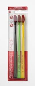 Swissdent Colours Vogue Soft-Medium zubní kartáčky 3ks