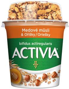 Danone Activia Zdravé Ráno - Medové müsli s oříšky