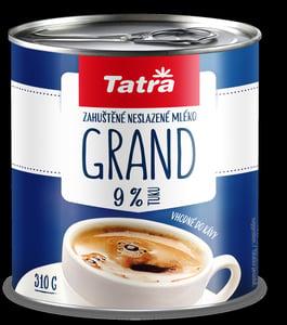 Tatra Grand kondenzované mléko 9%