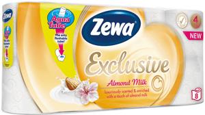 Zewa Almond Milk toaletní papír, 4 vrstvý, 8ks