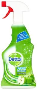 Dettol Power & Fresh antibakteriální víceúčelový sprej zelené jablko