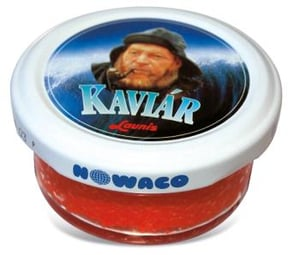 Nowaco Kaviár červený Capelin