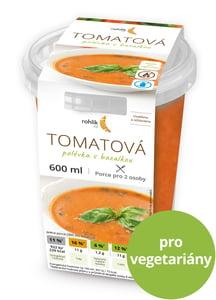 Rohlik.cz Tomatová polévka s bazalkou 2 porce