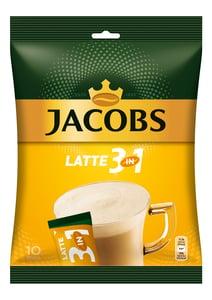 Jacobs Cafe Latte instantní káva 3v1 10x12,5g
