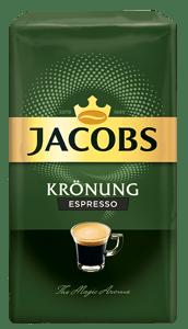 Jacobs Krönung Espresso pražená mletá káva