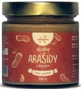 Navařeno Mělněné arašídy Creamy