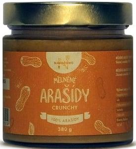 Navařeno Mělněné arašídy Crunchy
