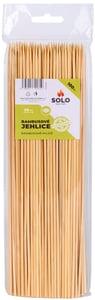 SOLO Jehlice bambusové, hrocené, délka 25cm