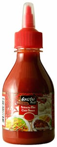 Exotic Food Tandoori Sriracha ostře pálivá omáčka