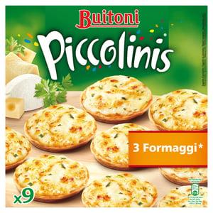 Buitoni Piccolinis 3 Formaggi mini pizzy 9ks