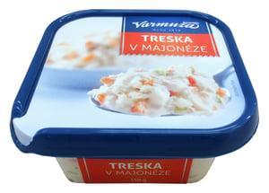 Varmuža Treska v majonéze