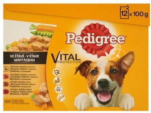 Pedigree Vital Protection kapsičky pro dospělé psy Mix ve šťávě 12 × 100g