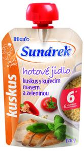 Sunárek Meal Pouch - Kuskus s kuřecím masem a zeleninou